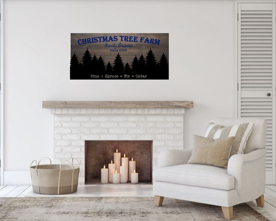 Christmas Tree Farm - Creative Art Bar