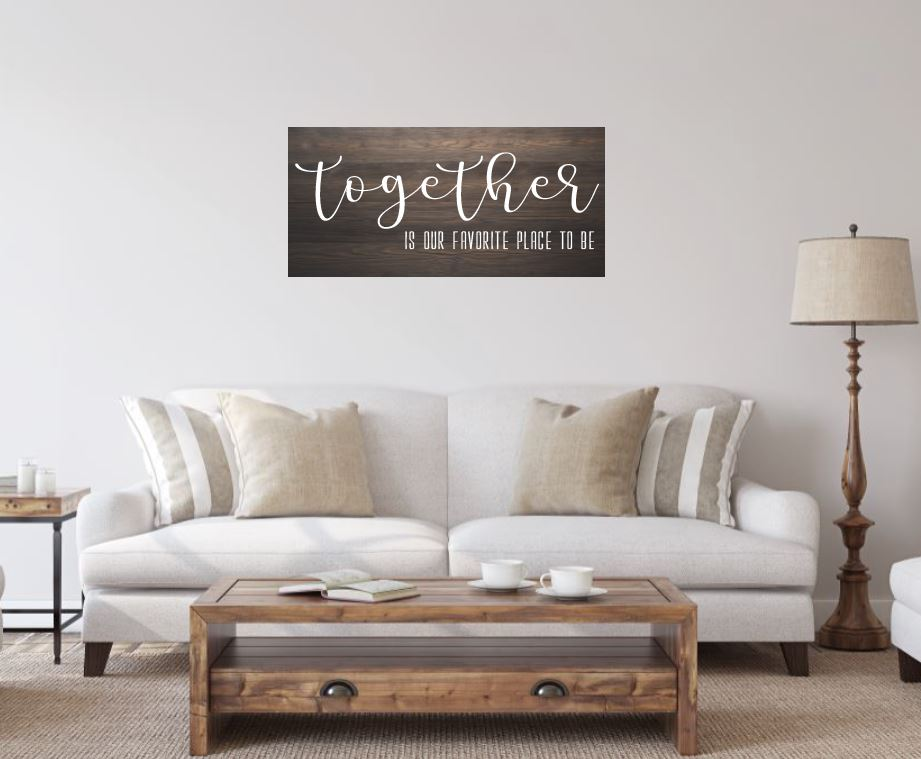 Together is our favorite place to be - Creative Art Bar