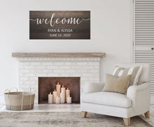 Load image into Gallery viewer, Wedding Welcome - Creative Art Bar