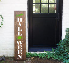 Load image into Gallery viewer, Porch Sign Happy Halloween