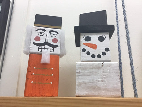 At Home Nutcracker & Snowman Kit