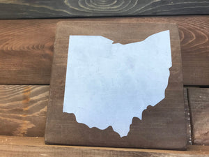 Ohio Wood Sign
