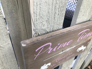 Horse Stall Name Sign