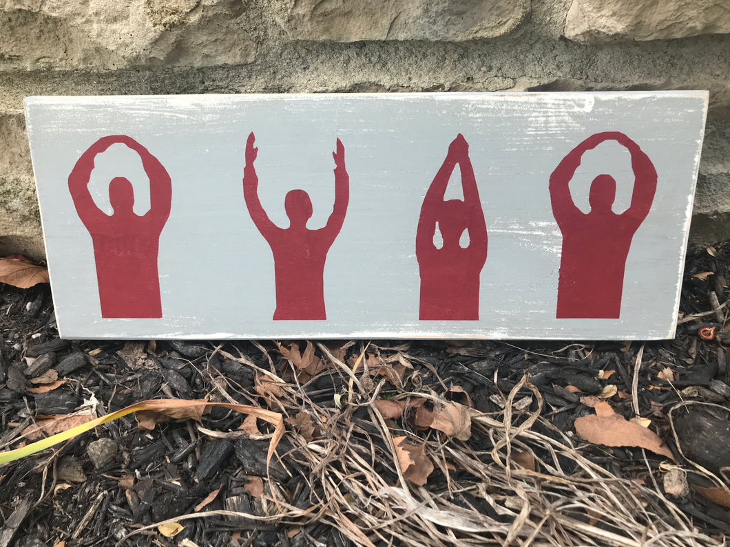 O-H-I-O Horizontal Sign