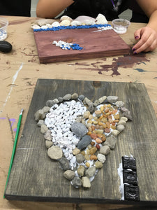 At Home Pebble Art - Creative Art Bar