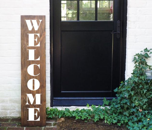 Porch Sign Welcome
