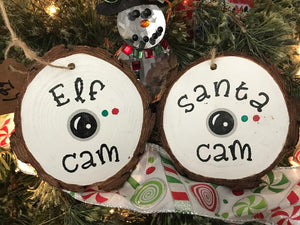 Santa/Elf Cam Ornaments
