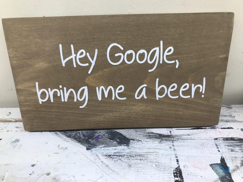 Hey Google, bring me a beer!