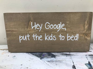 Hey Google, put the kids to bed!