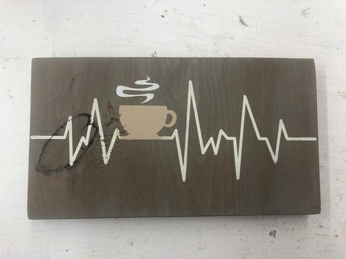 Clearance Coffee Wood Sign