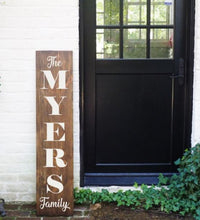 Load image into Gallery viewer, Porch Sign Monogram