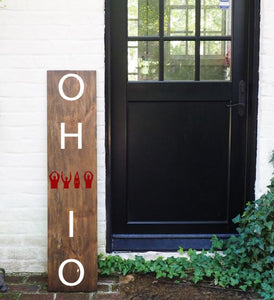 Porch Sign O-H-I-O