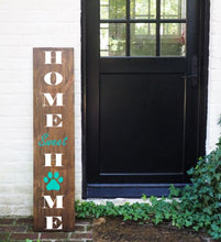 Load image into Gallery viewer, Porch Sign Paw Print