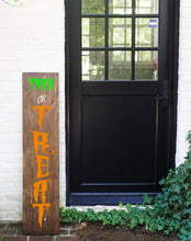 Load image into Gallery viewer, Porch Sign Trick or Treat