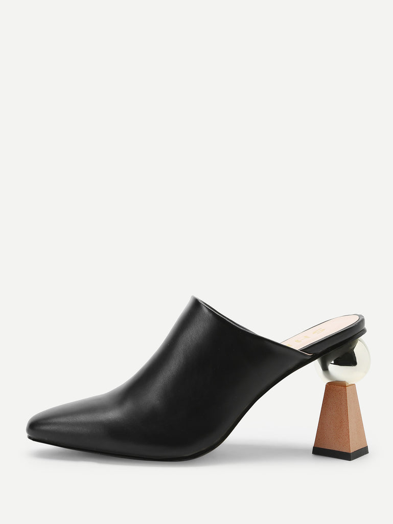 32cdd01523 Plain Pointed Toe Chunky Heels – Fashion Dress Outlet