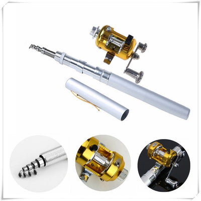 Portable Telescopic Fishing Rod PEN Fishing Rod