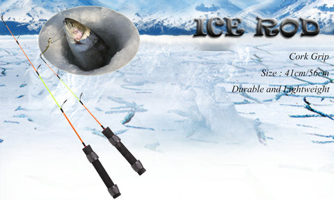 Fisherman ice rod
