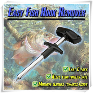 Squeeze Out Hook Remover