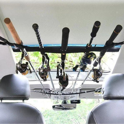 Vehicle Fishing Rod Holder Straps (2 Straps)
