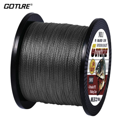 Goture Premium Braided Fishing Line (500M/547 Yards) - Born To Fish