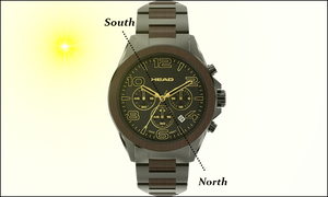 How To Use Your Analogue Watch As a Compas