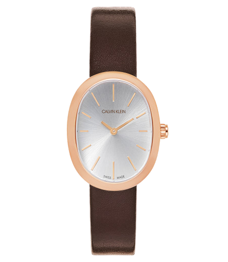 Brown-Watch-Calvin-Klein-Womens-Analouge