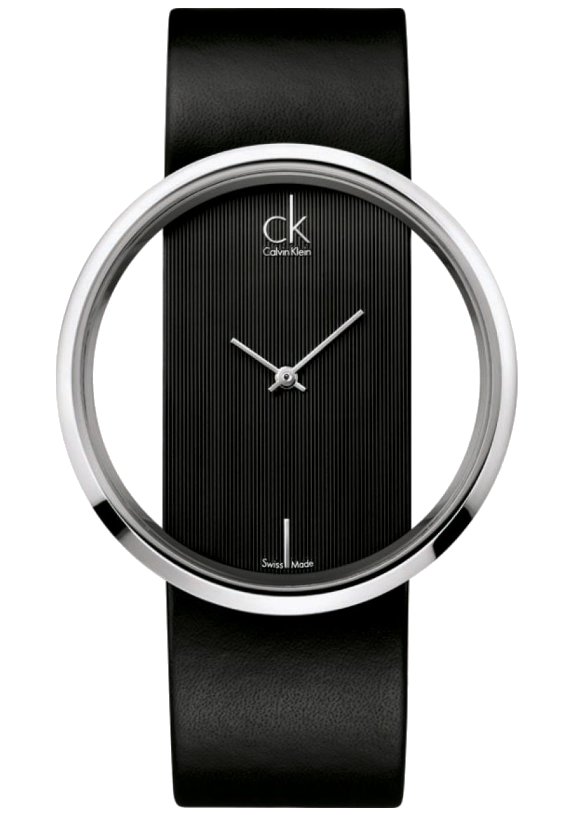 Leather-Watch-Calvin-Klein-Womens-Analouge