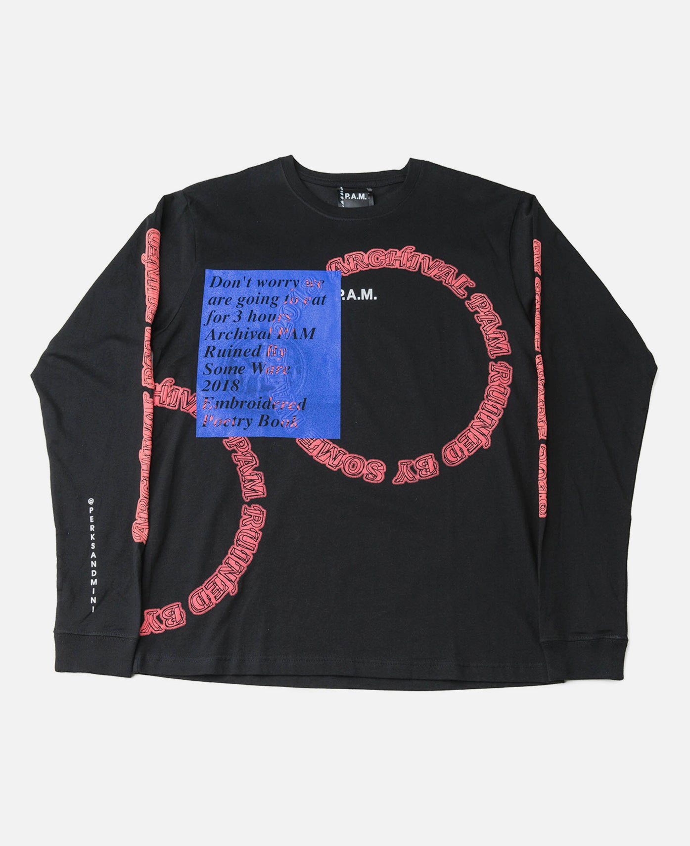 Some Ware x P.A.M. Logo L/S Tee