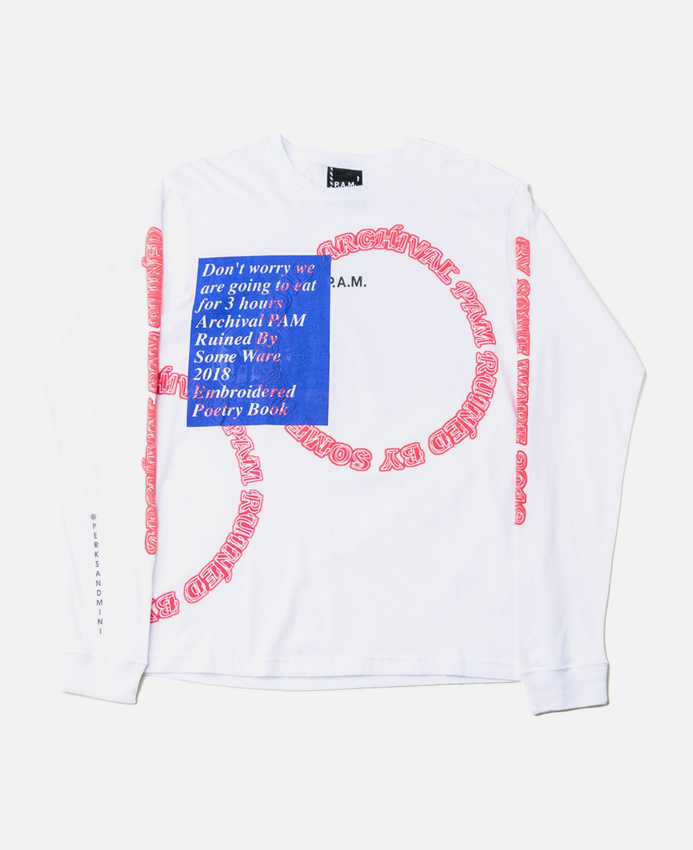 Some Ware x P.A.M. Mini Logo L/S Tee