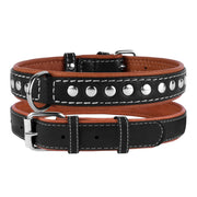 Collar Soft, Studded Leather Collar