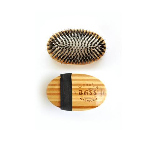 Bass Porcupine Pad Brush - 100% Bamboo Wood Brush Pad