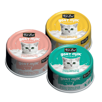 Kit Cat Goat Milk Cans