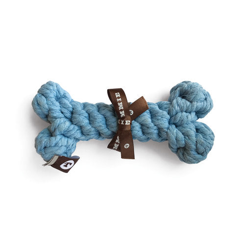 Bellwoods Blue Bone, Braided Rope Toy