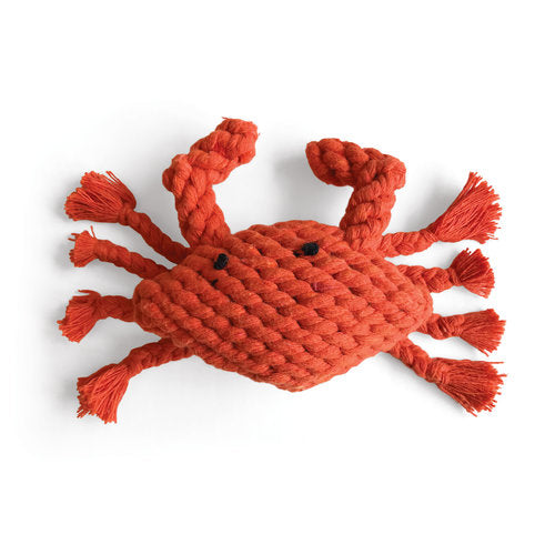 Carlaw the Crab - Braided Rope Toy
