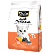 Kit Cat Zeolite Charcoal Cat Litter 4KG