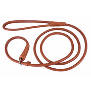Collar Soft Leather Slip Lead