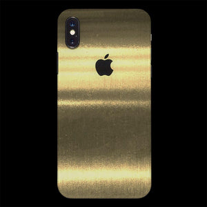 Brushed Gold / Back Only / Absolutely YES! 7 Layer Skinz Custom skin wraps