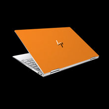 Matte Orange / Top & Bottom & Trackpad 7 Layer Skinz Custom skin wraps