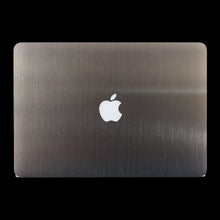 Brushed Aluminium / Top & Bottom & Trackpad 7 Layer Skinz Custom skin wraps