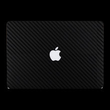 Black Carbon Fiber / Top & Bottom & Trackpad 7 Layer Skinz Custom skin wraps