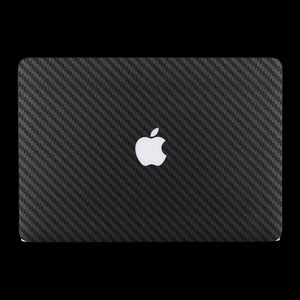 Gunmetal Carbon Fiber / Top & Bottom & Trackpad 7 Layer Skinz Custom skin wraps