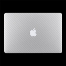 White Carbon Fiber / Top & Bottom & Trackpad 7 Layer Skinz Custom skin wraps
