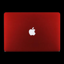 Matte Red / Top & Bottom & Trackpad 7 Layer Skinz Custom skin wraps