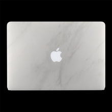 White Marble / Top & Bottom & Trackpad 7 Layer Skinz Custom skin wraps