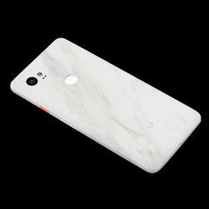 White Marble / Back Only 7 Layer Skinz Custom skin wraps