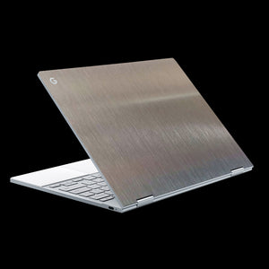 Brushed Aluminium / Top & Trackpad 7 Layer Skinz Custom skin wraps