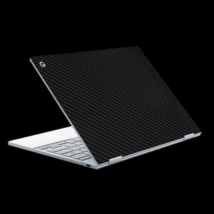 Black Carbon Fiber / Top & Trackpad 7 Layer Skinz Custom skin wraps