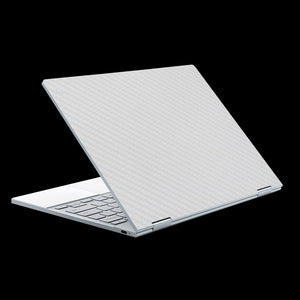 White Carbon Fiber / Top & Trackpad 7 Layer Skinz Custom skin wraps