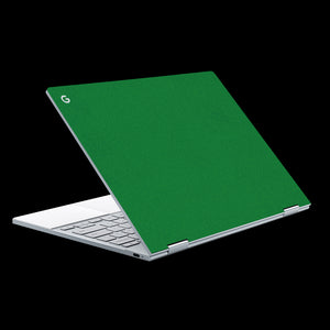 Matte Green / Top & Trackpad 7 Layer Skinz Custom skin wraps