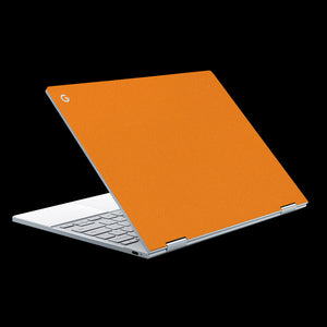 Matte Orange / Top & Trackpad 7 Layer Skinz Custom skin wraps